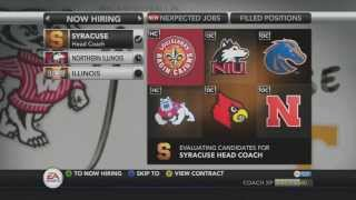 NCAA Football 14 Dynasty - I accepted the Head Coaching Position at... - Season One (Ending)