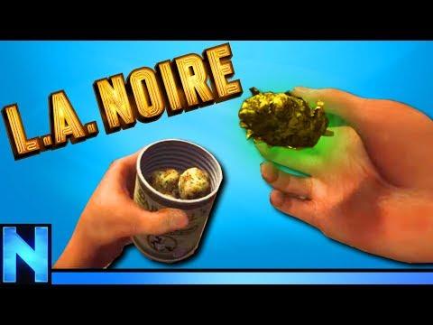 VR 50 POUNDS OF WEED DRUG BUST - LA Noire