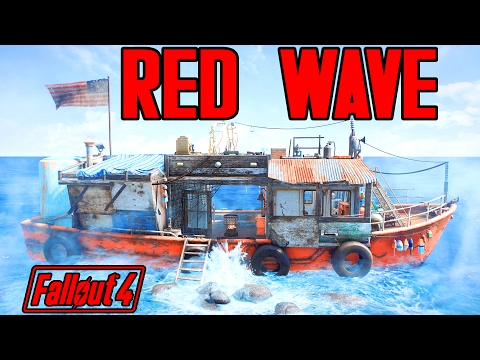 Fallout 4 - The Red Wave - Fast Travel Player Home BOAT - Xbox One & PC Mod