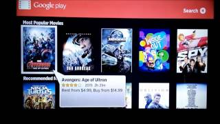 Review of Roku Apps Google Play Movies and TV & Super Speeders