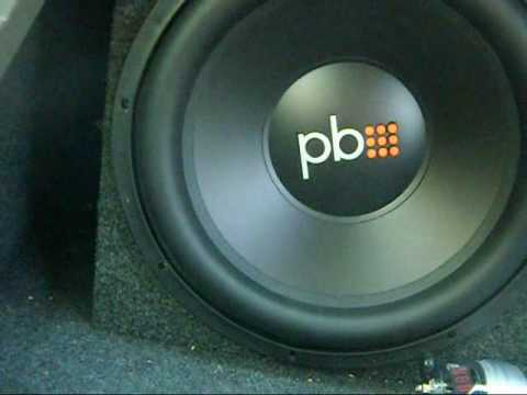 New 15's power bass subs
