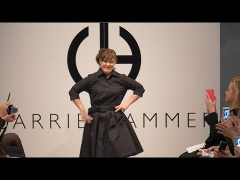 Jamie Brewer Makes Her Runway Debut