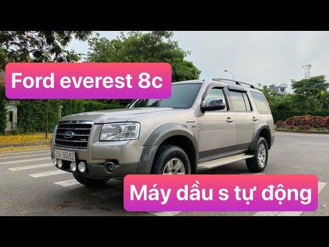 Ford everest 2008 - Máy dầu số tự động, chuyển PHOM MỚI rồi, bao lỗi , XE CHẤT giá 310 tr