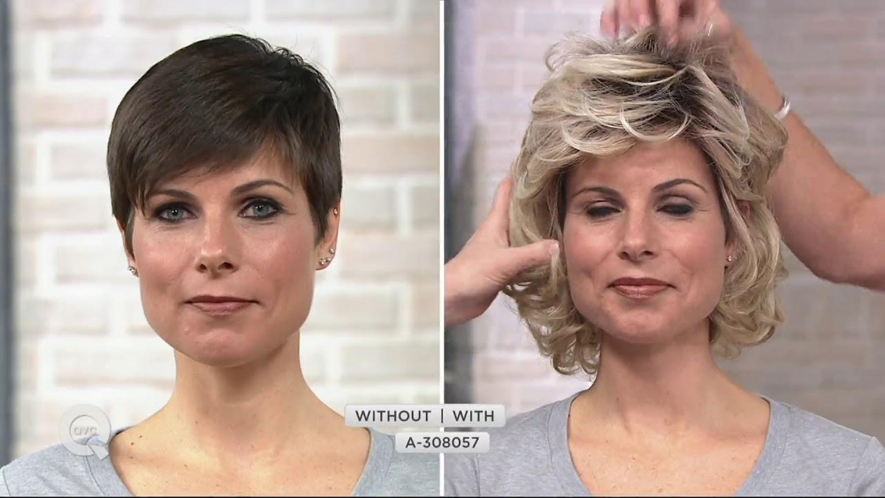 Toni Brattin Alluring Mid Length Wig On Qvc Youtube