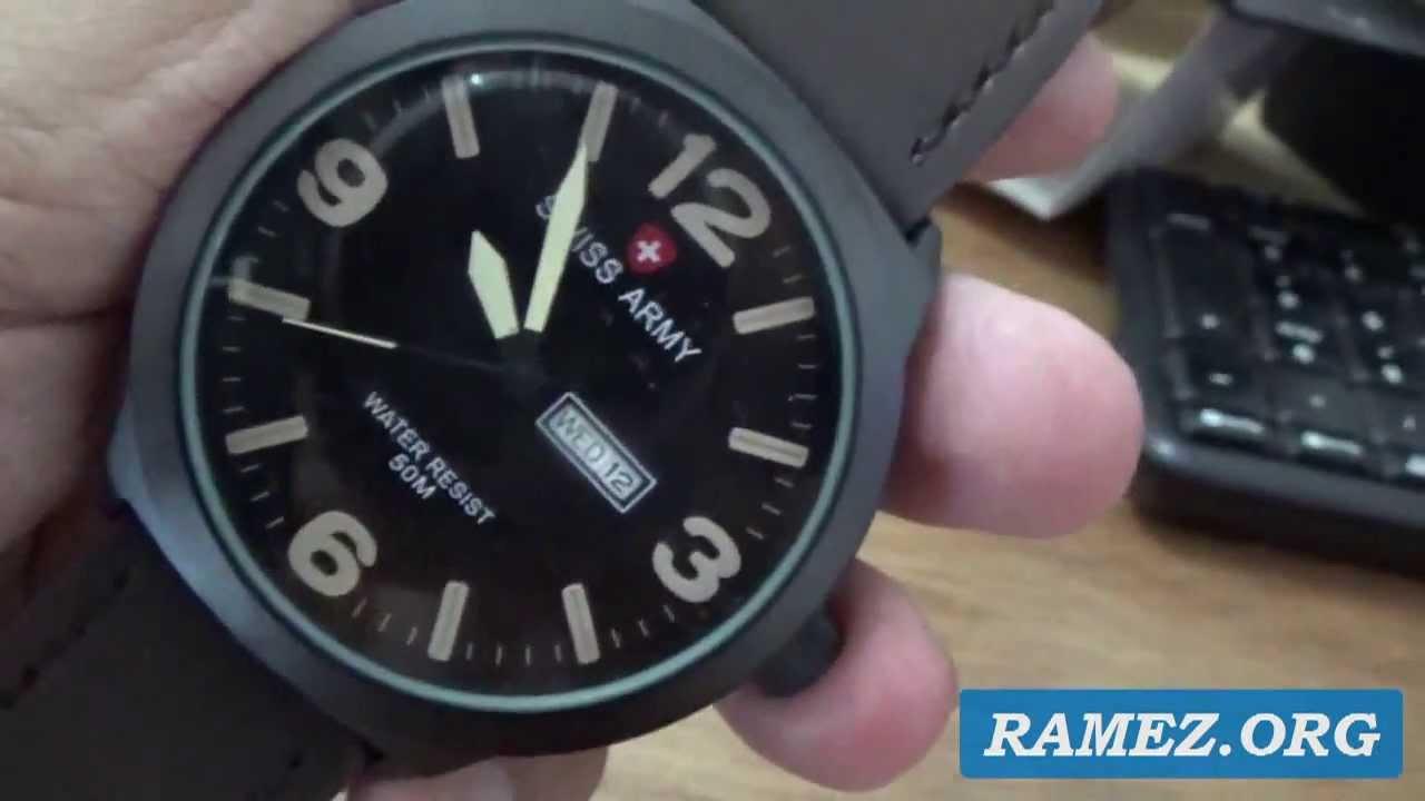Jam Tangan Swiss Army Genuine Leather Indonesia Youtube Swisss