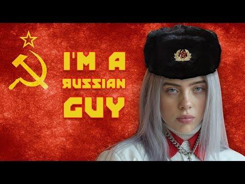 Billie Eilish - RUSSIAN Guy (Bad Guy Piano Parody)