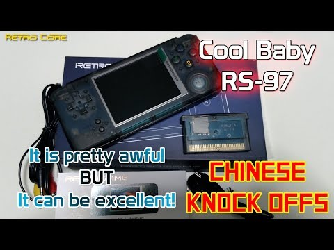CoolBaby RS-97 - fantastic to mod! - Chinese Knock Offs - 4K