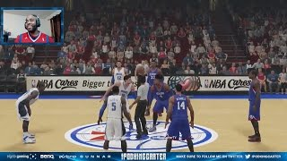 NBA 2K15 Philadelphia 76ers Online Rank Match Challenge FaceCam - What Was I Thinking?