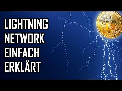 Lightning Netzwerk einfach erklärt 🌩 | Lightning Network Erklärung deutsch | Lightning und Bitcoin
