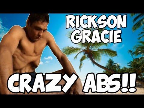 Rickson Gracie - CHOKE(1999) Kundalini Yoga - Breath of Fire CRAZY ABS BREATHING!