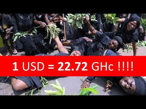 PROOF: Watch How 1 USD Now 22 Ghana Cedis? Shocking!!! 😱😱😱