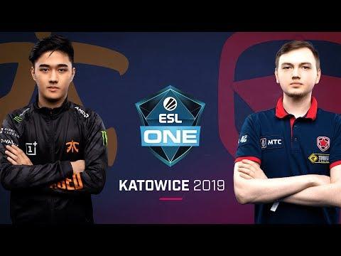 Fnatic vs Gambit - ESL One Katowice 2019 - Game 3