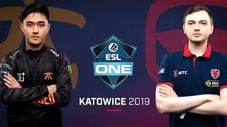 Dota 2 - Fnatic vs. Gambit - Game 3 - UB Semi #2 - ESL One Katowice 2019