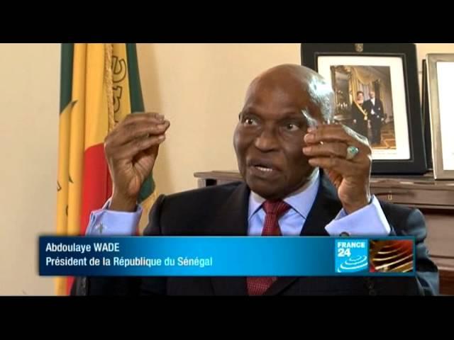 Élection présidentielle - Abdoulaye Wade, président de la République du Sénégal
