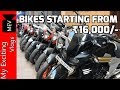 BIKES STARTING FROM RS.16,000/- (SECOND HAND BIKE MARKET - KTM, PULSAR, APACHE ) KAROL BAGH, DELHI .