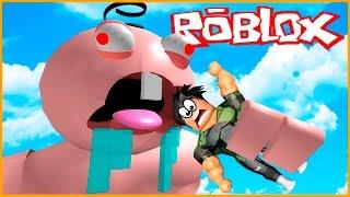 BEBÉ GIGANTE ME COMER! | Roblox Escapar del malvado Bebé Obby!