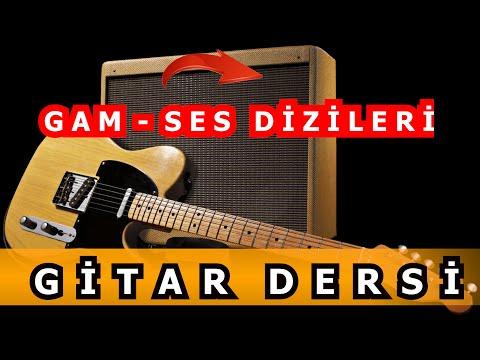 Selim Işık Gitar Dersi 36 - Gam Ses Dizisi 1 (C Majör Gamı)