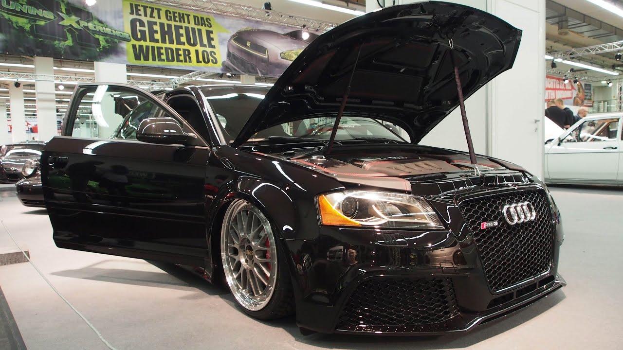 Audi S3 8P 2007 Tuning, 365ps, G-Ride Luftfahrwerk, BBS Le-Mans R19 - YouTube