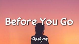 Download Before You Go - Lewis Capaldi (Lyrics) 🎵