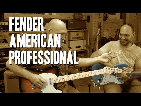 Fender American Professional - Unboxing and 1st impression