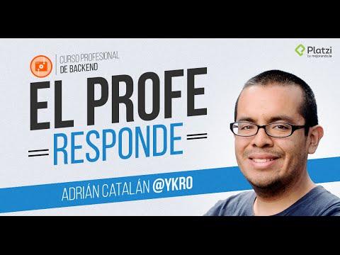 Sesi�n de preguntas y respuestas con Adri�n Catal�n | #ProfeResponde