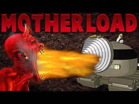 Motherload - THE FINAL BOSS - The Secrets Revealed - Motherload Gameplay Highlights (Ending)