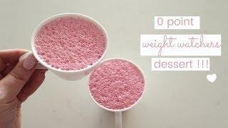 Weight Watchers Freestyle 0 Point Dessert Recipe {FLUMMERY}