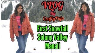 Manali First Snowfall 4 Nov 2018 Vlog  मनाली में ताजा बर्फबारी  Solang Valley  CraftyPuja 48.mp3