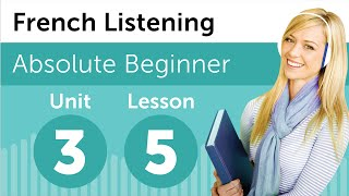 French Listening Comprehension - Talking About Breakfast in French