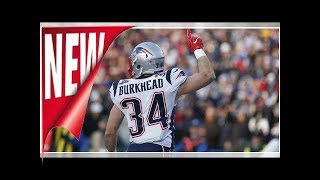 Burkhead Gillislee and not expected to play vs. Titans