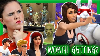 👀THE ONLY THING WORTH GETTING THE STAR WARS PACK FOR??🚀 | Uncontrolled Sims are the WORST | Chani_ZA