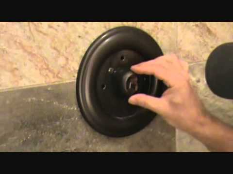 How to adjust a shower handle: for more enjoyment - YouTube