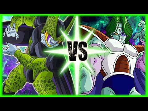 Perfect Cell Vs Zarbon FT. MasakoX