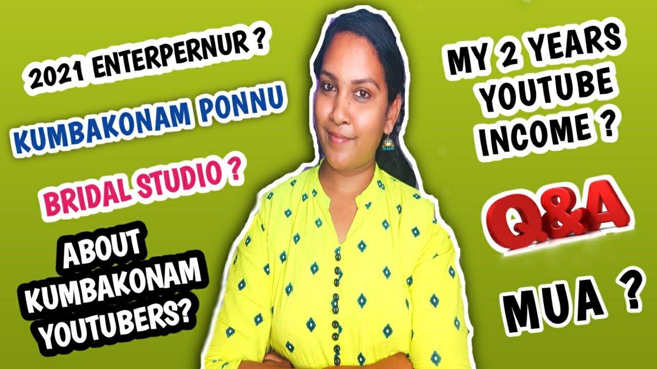 kumbakonam ponnu life update 2021|own bridal studio in kumbakonam|q&A after long time