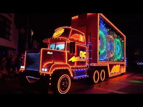 FULL Paint The Night Parade 2018 Pixar Fest Debut at Disney California Adventure, Disneyland Resort