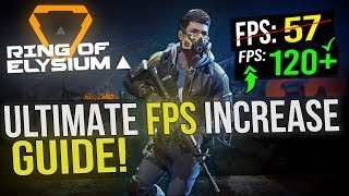 🔧 Ring Of Elysium: Dramatically increase performance / FPS with any setup! RoE 2019