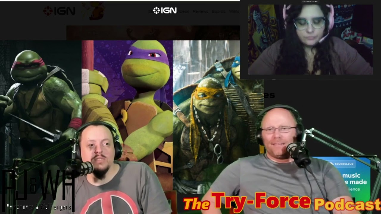 #226 Try Force Podcast: That's My Mighty Down Finger