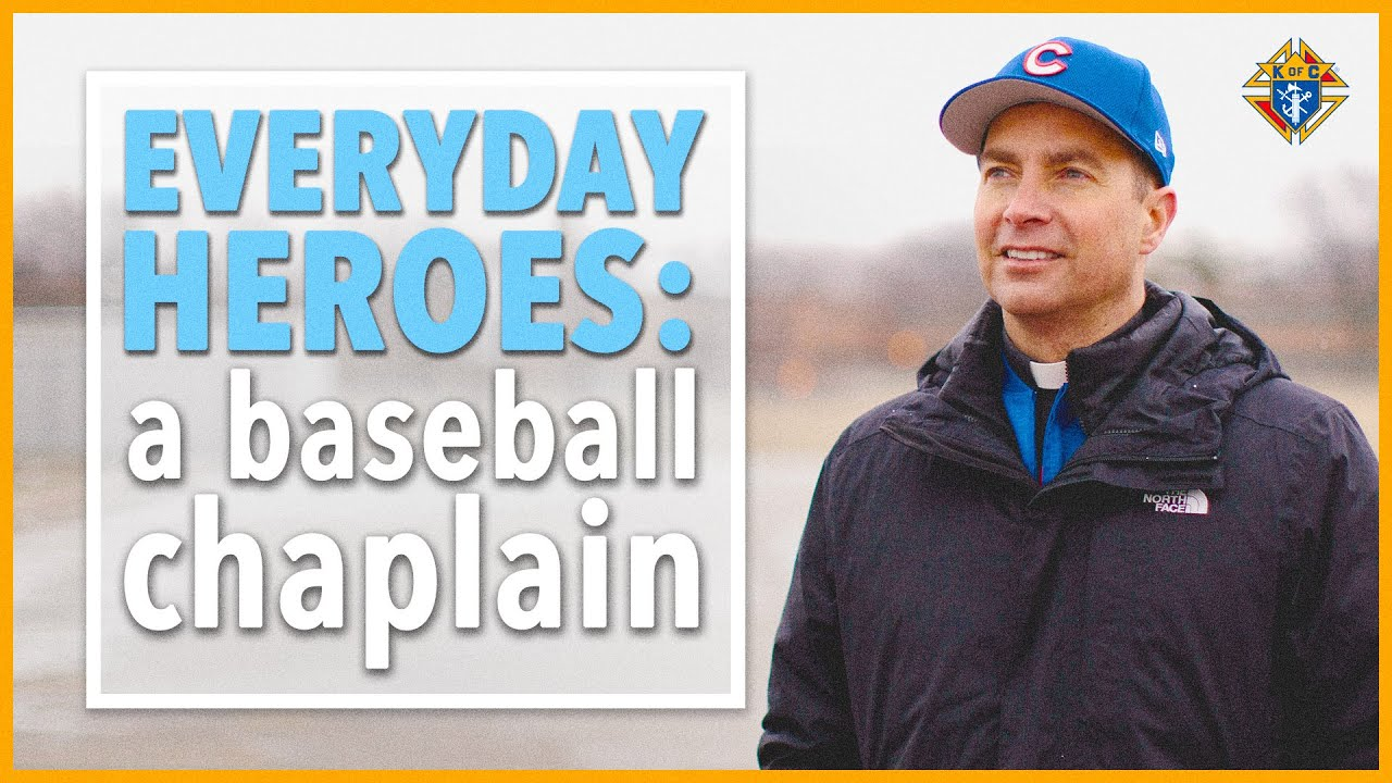 Incredible Story of the Cubs' Catholic Chaplain