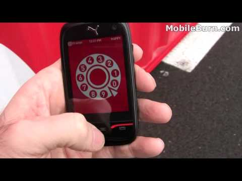 PUMA Phone by Sagem Wireless - first look
