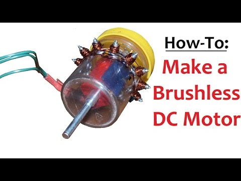 how to make a brushless dc motor inrunner youtube