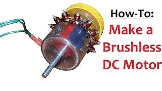 Homemade Brushless Outrunner Electric Motor Bldc Dc