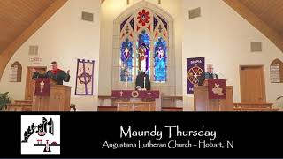 April 1, 2021 - Maundy Thursday