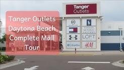 Tanger Outlets Daytona complete mall tour #TravelTips #Shopping