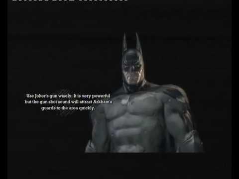 batman arkham asylum all game over screens