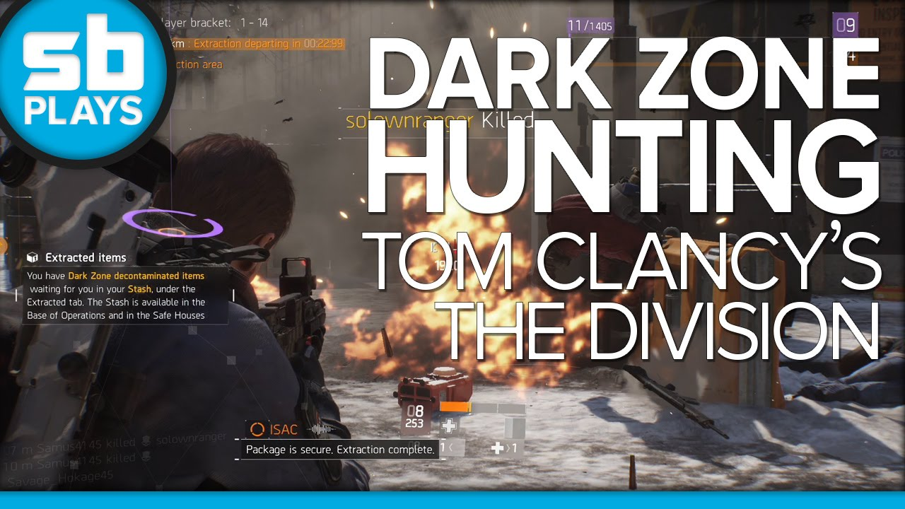 The Division Dark Zone Trolling and Shenanigans
