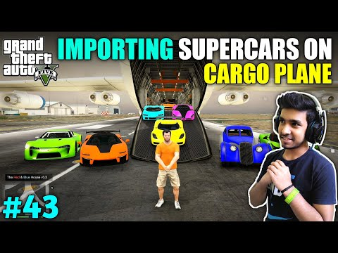 IMPORTING EXOTIC SUPER CAR IN LOS SANTOS   GTA V GAMEPLAY #43
