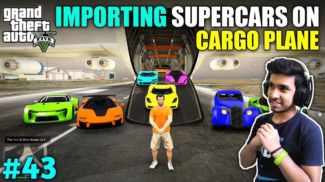 Download IMPORTING EXOTIC SUPER CAR IN LOS SANTOS   GTA V GAMEPLAY #43