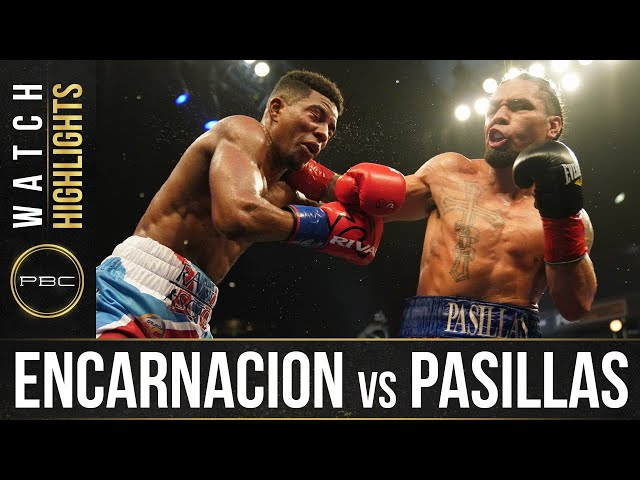 Encarnacion vs Pasillas HIGHLIGHTS: September 23, 2020 | PBC on FS1