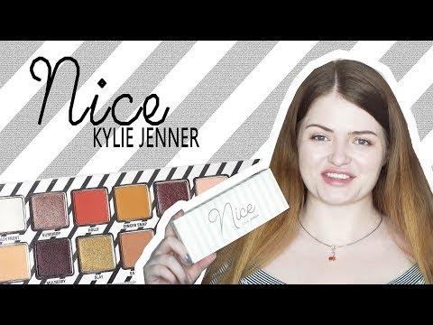 Тени KYLIE NICE | Первые впечатления, свотчи, макияж