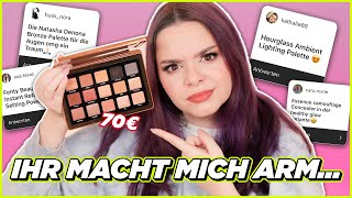 KRASS! 😳 Ich teste EURE Makeup Favoriten! 🤑